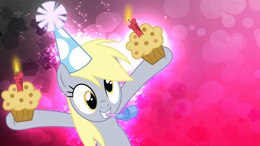 Открытка литл пони с днем рождения, для шкатулок